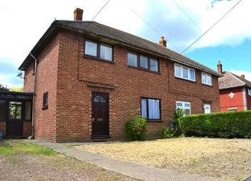 Thumbnail 3 bed semi-detached house for sale in Churchfield Road, Outwell, Wisbech