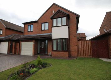Thumbnail 4 bed detached house for sale in Leander Drive, Boldon Colliery