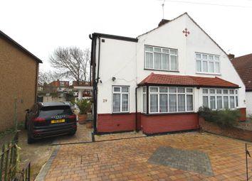 Thumbnail 3 bed semi-detached house for sale in Hamilton Avenue, North Cheam, Sutton