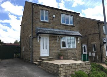 Thumbnail 3 bed detached house to rent in Highoak Garth, Oakworth, Keighley