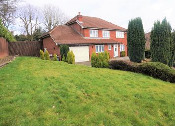 Thumbnail 4 bedroom detached house for sale in Hall Gardens, Bramcote