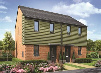 "Thumbnail 2 bed semi-detached house for sale in ""The Morden"" at Lawley Drive, Lawley, Telford"