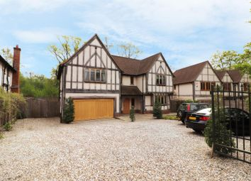 Thumbnail 5 bed detached house to rent in Trumpsgreen Road, Virginia Water
