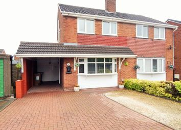 Thumbnail 3 bed semi-detached house for sale in Dale Drive, Burntwood