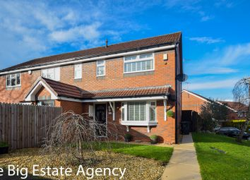 Thumbnail Semi-detached house for sale in Courbet Drive, Connah's Quay, Deeside