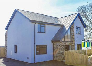 Thumbnail 5 bed detached house for sale in Trethurgy, St Austell, Cornwall