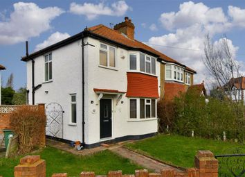 Thumbnail 3 bed semi-detached house for sale in Hazlemere Gardens, Worcester Park, Surrey