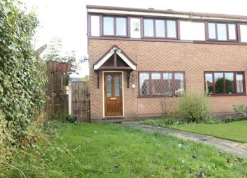 Thumbnail 3 bed semi-detached house for sale in Wood Grove, Denton, Manchester