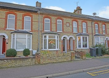 Thumbnail 3 bed terraced house for sale in Gladstone Road, Willesborough, Ashford