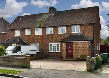 Thumbnail 3 bed semi-detached house for sale in Island Farm Road, West Molesey
