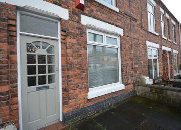 Thumbnail 3 bedroom terraced house to rent in Queen Street, Crewe