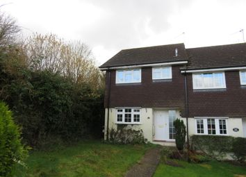Thumbnail 3 bed end terrace house for sale in Firs Crescent, Kings Worthy, Winchester