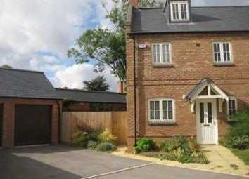 Thumbnail 3 bed semi-detached house for sale in Crown Close, Great Glen