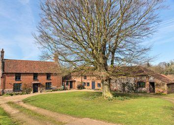 Thumbnail 4 bedroom farmhouse for sale in Lamas, Norwich