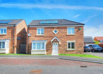 Thumbnail 4 bed detached house to rent in Dunnock Place, Wideopen, Newcastle Upon Tyne