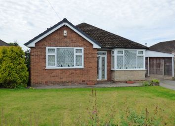Thumbnail 3 bedroom detached bungalow for sale in Meadway, High Lane, Stockport, Cheshire