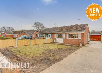 Thumbnail 2 bed semi-detached bungalow for sale in Maxwell Drive, Leeswood, Mold