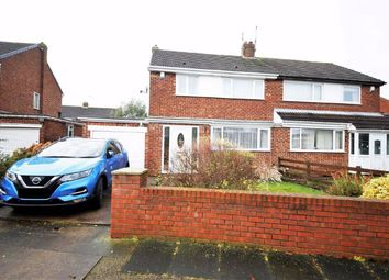 Thumbnail 3 bed semi-detached house for sale in Raby Drive, East Herrington, Sunderland