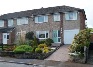 Thumbnail 5 bed semi-detached house for sale in Whitehall Road, Linthwaite, Huddersfield