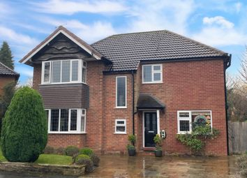 Thumbnail 3 bed detached house for sale in Manor Close, Wilmslow