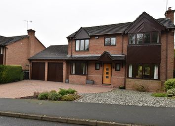 Thumbnail 4 bed detached house for sale in St. Augustine Drive, Droitwich