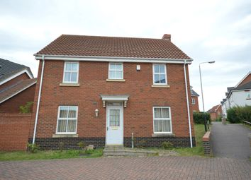 Thumbnail 4 bed property to rent in Caddow Road, Three Score, Norwich