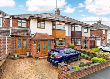 Thumbnail 4 bed semi-detached house for sale in Fairway, Huyton, Liverpool