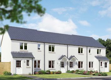 "Thumbnail 3 bedroom end terrace house for sale in ""The Newmore"" at Lignieres Way, Dunbar"