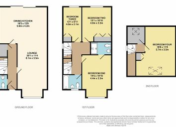 Thumbnail 4 bed semi-detached house for sale in Mayors Walk, Pontefract