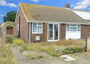 Thumbnail 2 bed semi-detached bungalow for sale in Derville Road, Greatstone, New Romney, Kent