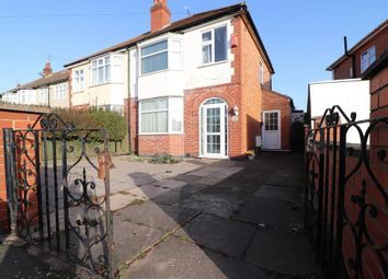 3 bed semi-detached house for sale in Belvoir Drive East, Leicester, Leicestershire LE2