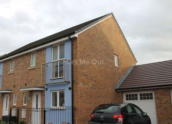 Thumbnail 3 bed semi-detached house to rent in Rapide Way, Weston-Super-Mare