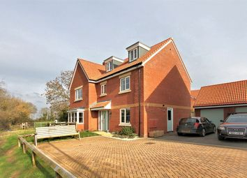 Thumbnail 5 bed detached house for sale in Meadow Brown Close, Thornbury, Bristol
