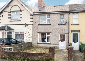 Thumbnail 3 bed terraced house for sale in Gelligaer Road, Cefn Hengoed, Hengoed