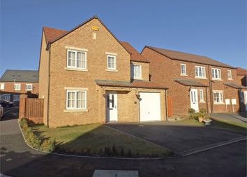Thumbnail 4 bed detached house for sale in Askrigg Close, Consett, Durham