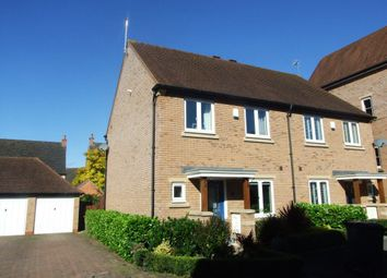 Thumbnail 3 bed property to rent in Arundel Way, Cawston, Rugby
