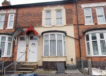 Thumbnail 2 bed terraced house for sale in Warren Road, Ward End