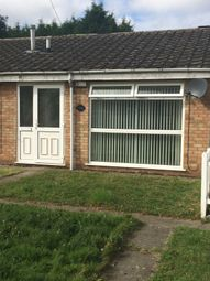 Thumbnail 1 bed terraced bungalow to rent in Ogwen Close, Leicester