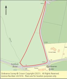 Thumbnail Land for sale in Land West Side Of Fairbourne Lane, Harrietsham, Maidstone, Kent