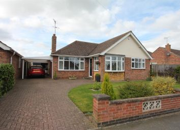 Thumbnail 3 bedroom detached bungalow for sale in Spa Drive, Sapcote, Leicester