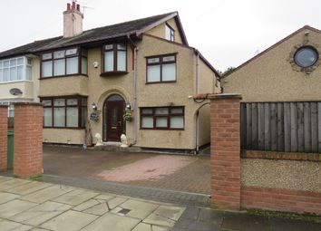 Thumbnail 5 bed semi-detached house for sale in Croft Avenue, Bromborough, Wirral