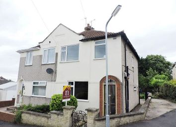 Thumbnail 3 bed semi-detached house for sale in Mosscar Close, Spion Kop, Mansfield