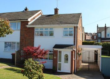 Thumbnail 3 bed semi-detached house for sale in Longhill Rise, Kirkby-In-Ashfield, Nottingham