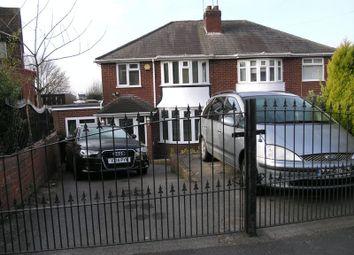 Thumbnail 4 bed semi-detached house for sale in Hillside Avenue, Rowley Regis