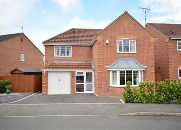 Thumbnail 4 bed detached house for sale in Sterling Close, Denby, Ripley