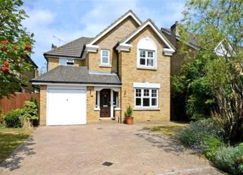 Thumbnail 4 bed detached house to rent in Darracott Close, Camberley
