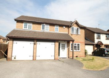 Thumbnail 4 bed detached house to rent in Thurlow Close, Atherstone