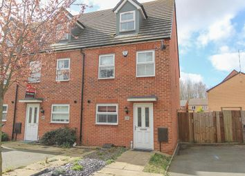 Thumbnail 3 bedroom end terrace house for sale in Cherry Tree Drive, Coventry