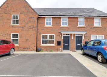 Thumbnail 3 bed terraced house to rent in Maxstead Close, Hessle