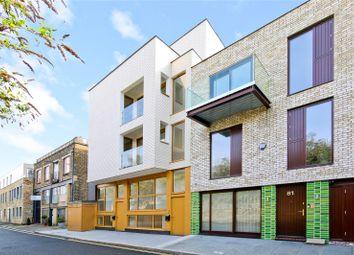 Thumbnail Studio for sale in Flat 3, 76 County Street, London